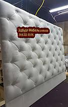 Изголовье кровати с пуговицами, фото 2