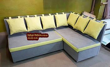 Кухонный уголок с подушками в рисунок, фото 3