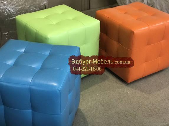 Яркие и цветные пуфики Квадро, фото 2