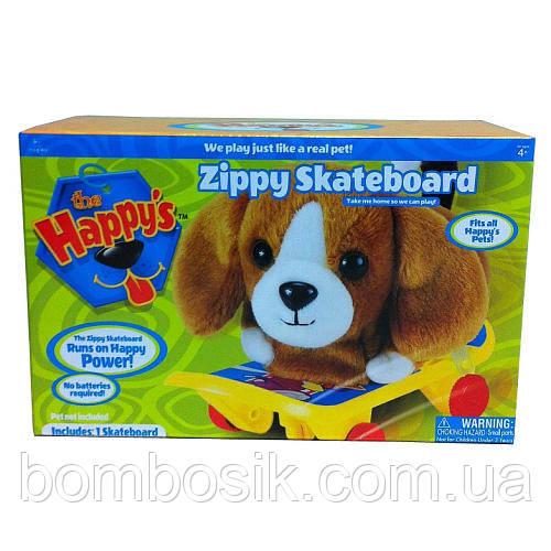 Скейтборд для игры с плюшевыми игрушками The Happy's Pets Plush