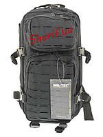Рюкзак  штурмовой 20 литров Assault LazerCut Black MIL-TEC, 14002602