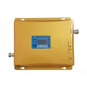 GSM 3G 4G репитер усилитель мобильной связи 1800 МГц 2100 МГц антенна 40см Золотистый gr007082, КОД: 198077