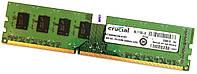Оперативная память Crucial DDR3 2Gb 1333MHz PC3-10600U CL9 2R8 (CT25664BA1339.M16FF) Б/У, фото 1