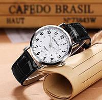 Мужские кварцевые часы KINGNUOS 013 White