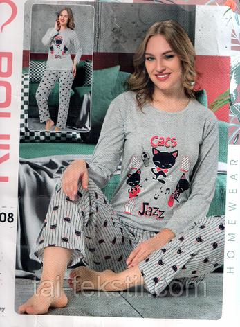 Rinda пижама женская длинные брюки хорошего качества Cotton 100%, фото 2