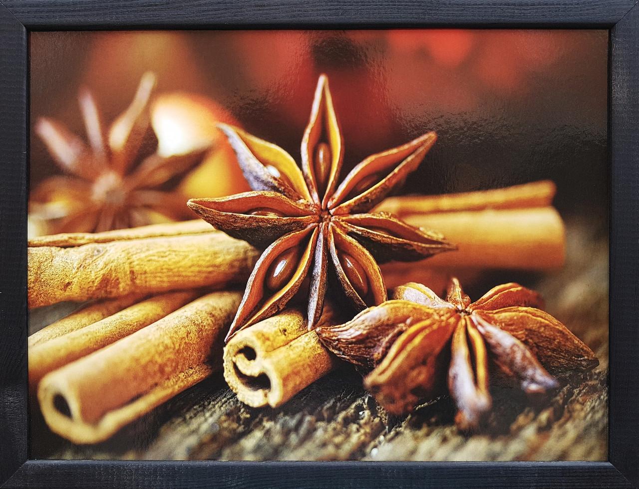 "Фотокартина в деревянной раме ""Spices 8"", 30х40 см"