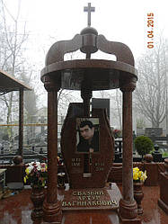Памятник с колонами и куполом № 28