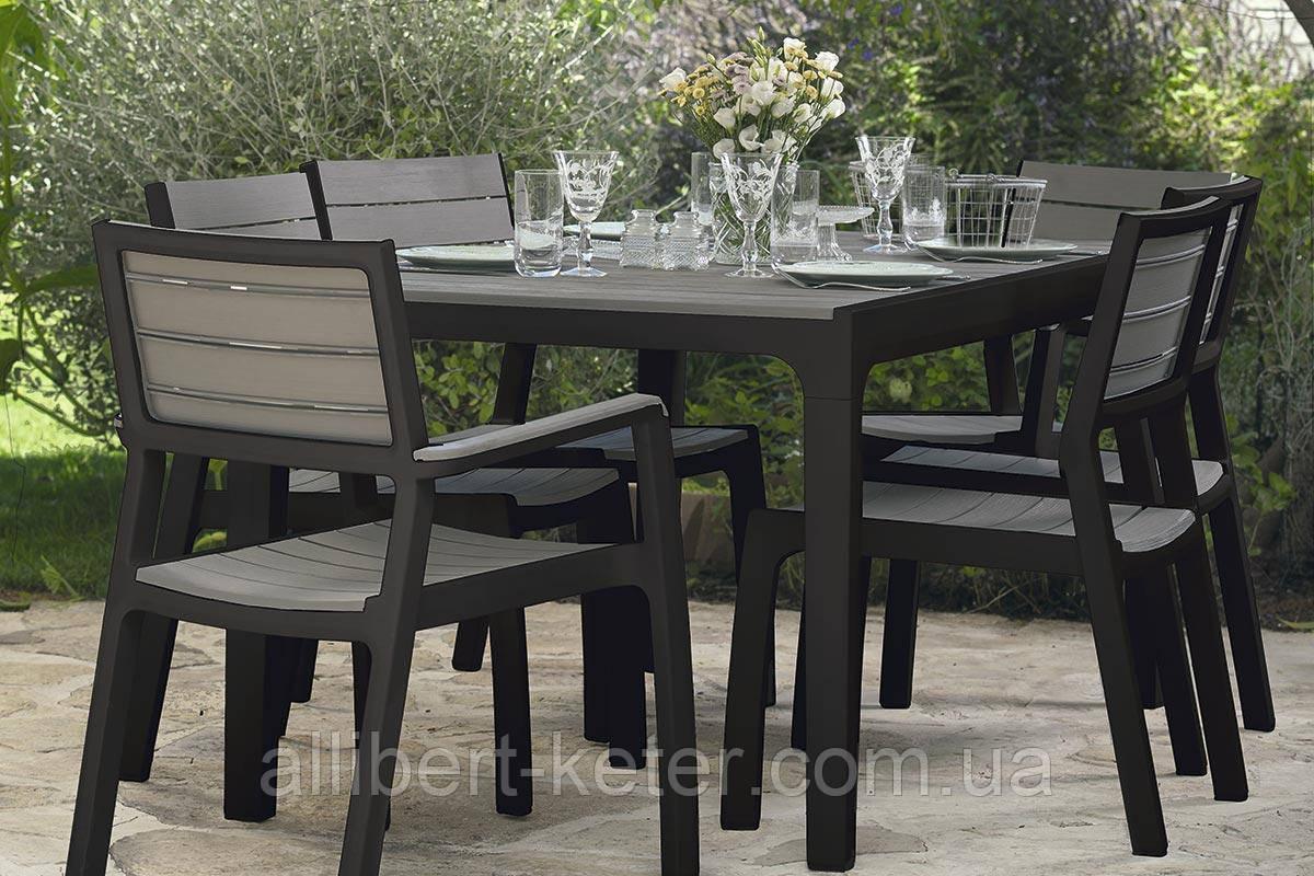 Набор садовой мебели Florence Set Grey ( серый )