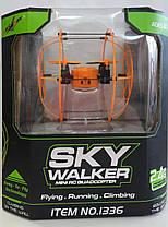 Радиоуправляемый квадрокоптер Helic Max Sky Walker 1336 3D ролловер коптер, фото 2