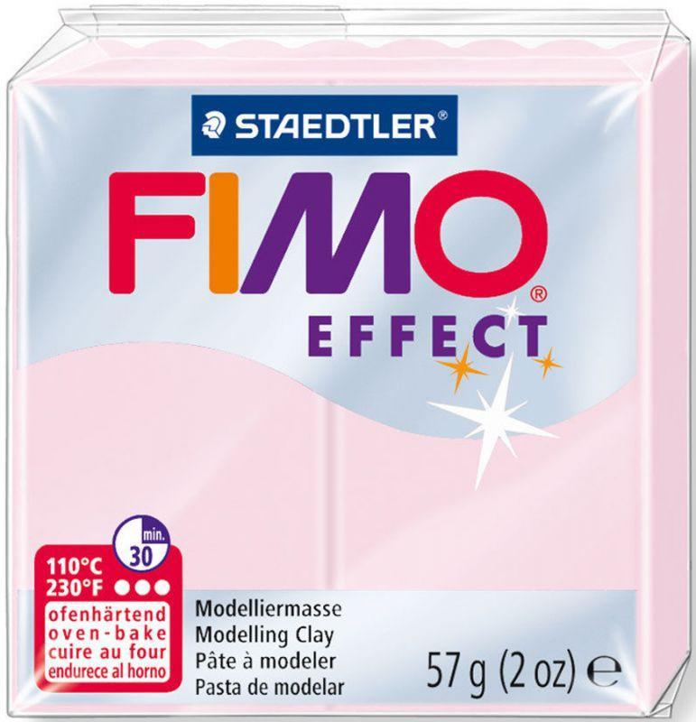 Пластика Effect, Розовая пастельная, 57 г, Fimo
