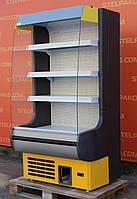 Холодильная горка (Регал) «Росс Modena ВПХ-Г» 1 м. (Украина), прозрачные боковые стекла, Б/у, фото 1
