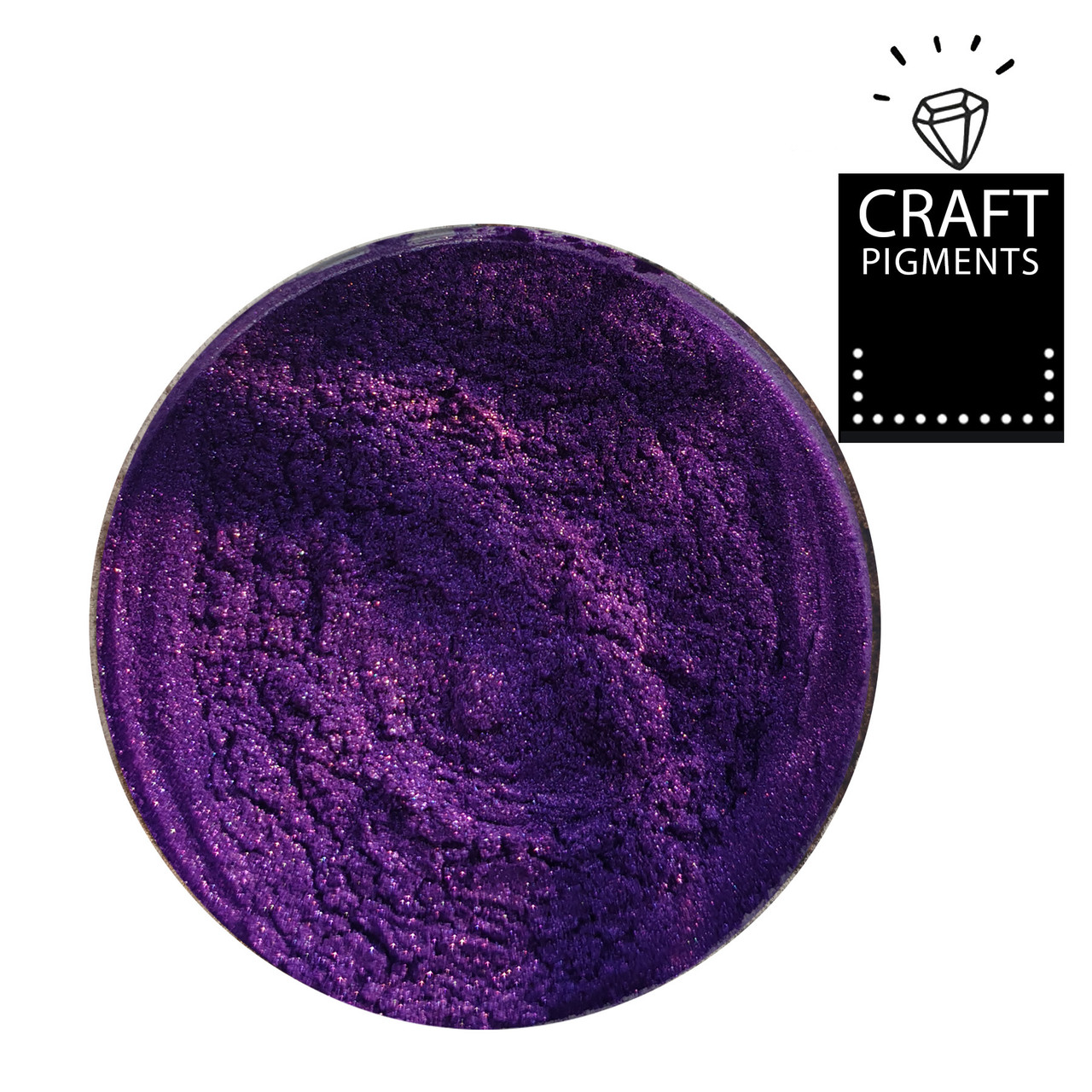 "Перламутровий пігмент ""Amethyst violet"" №34 ArtResin. Концентрований. Для смолы"