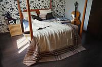 COFFE HEMP стеганое одеяло-покрывало ТМ DEVOHOME 200х220 см