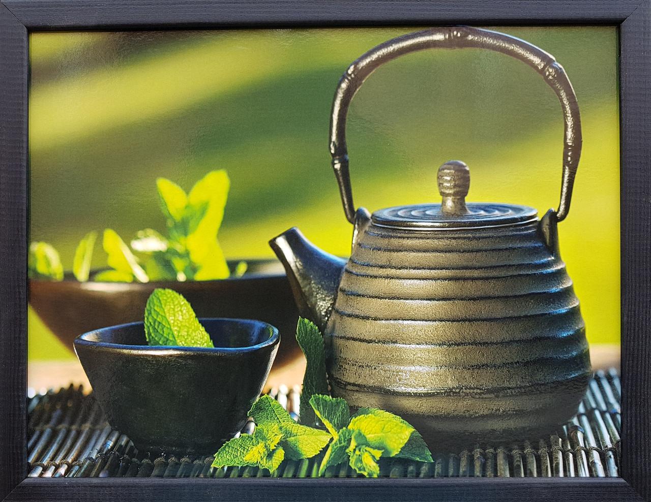 """Фотокартина в дерев'яній рамі """"Tea 3"""", 30х40 см"""