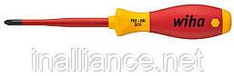 Отвертка PH2 х 100 мм SoftFinish electric slimFix Wiha 35394