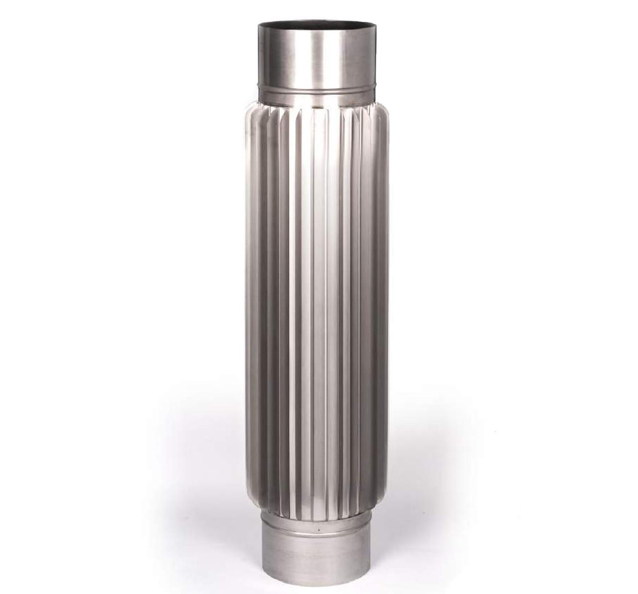 Радиатор L=1м из нержавеющей стали для дымохода