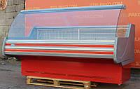Холодильная витрина гастрономическая «Технохолод Невада» 2.0 м. (Украина), широкая выкладка 78 см., Б/у