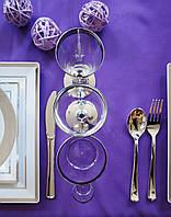 Ложки пластиковые плотные, полная сервировка стола для ресторанов, кейтеринга, хореки оптом CFP 12 шт 175 мм