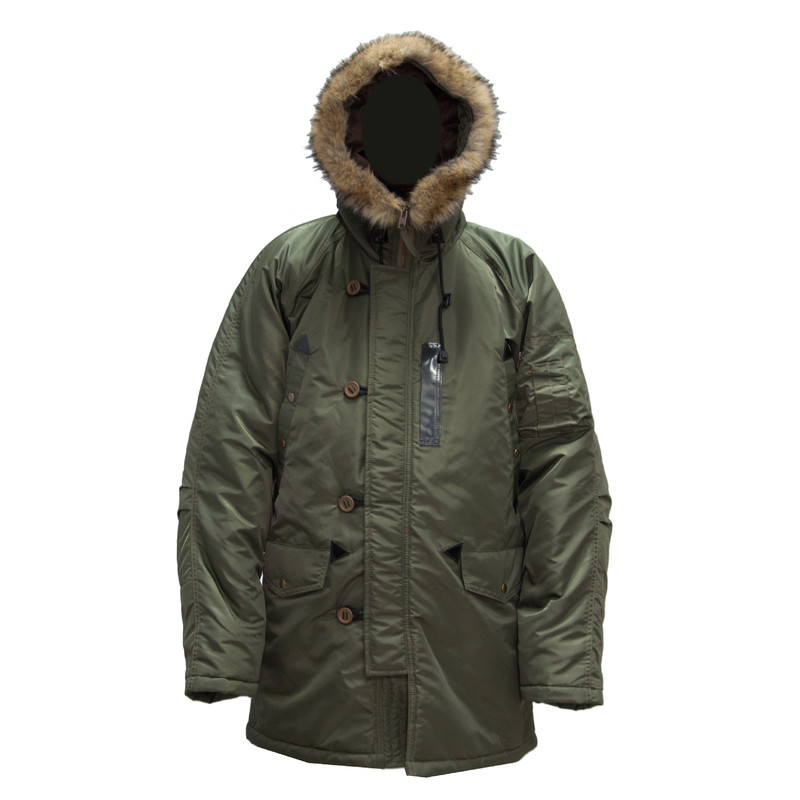 Куртка зимняя Аляска Оливковая