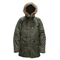 Куртка зимняя Аляска Оливковая, фото 1