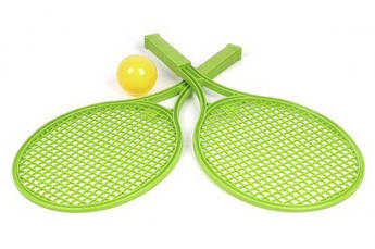 Детский набор для игры в теннис ТехноК (зеленый) 0380