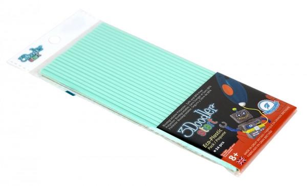 Набір стержнів для 3D-ручки 24 шт 3Doodler Start м'ятний