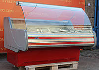 Холодильная витрина охлаждаемая «Технохолод Невада ПВХС» 1.6 м. (Украина), идеальное состояние, Б/у