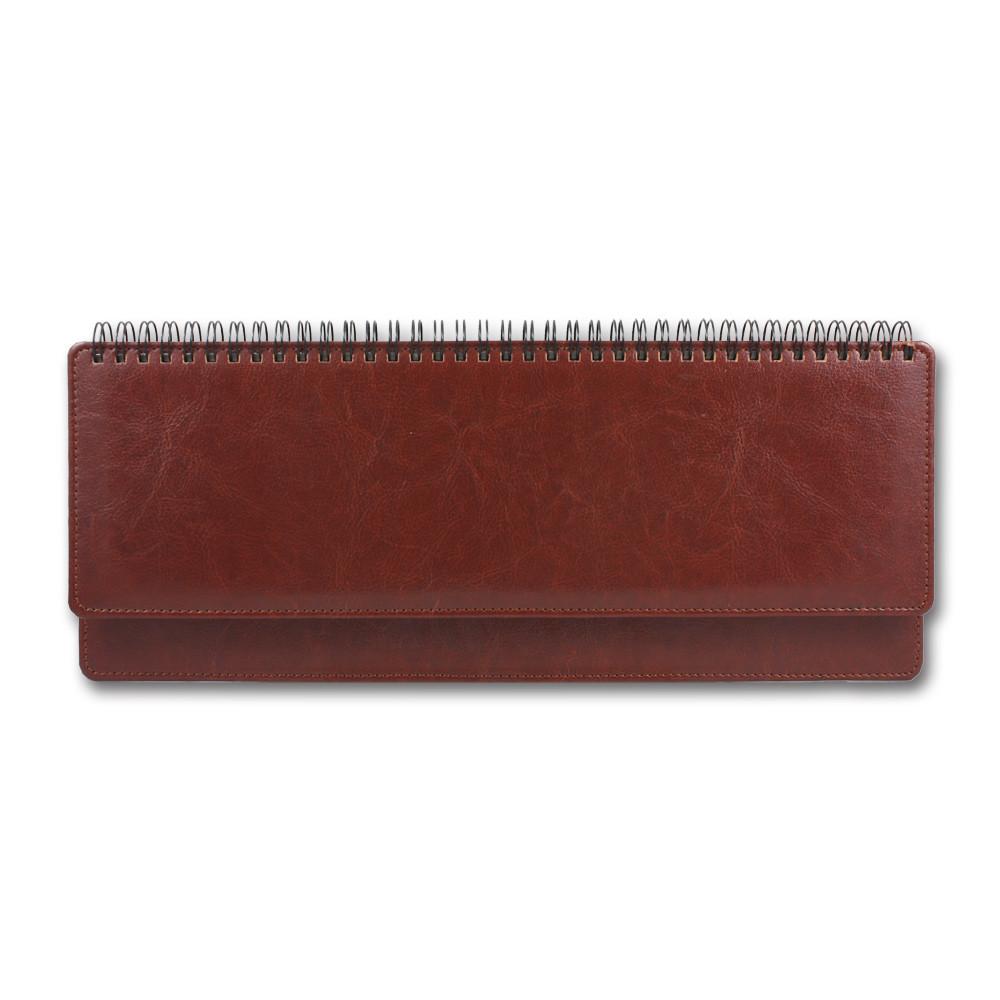 Планнинг датированный 2020 BRISK OFFICE SARIF (10,2 х 32,5) красно-коричневый