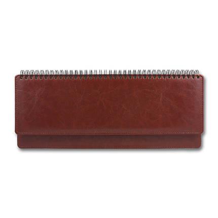 Планнинг датированный 2020 BRISK OFFICE SARIF (10,2 х 32,5) красно-коричневый, фото 2