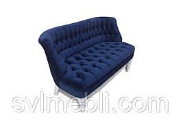 Диван Прованс 124 см x 65 см Синий