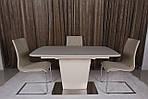 Стол Chicago 120 (Чикаго), капучино (Бесплатная доставка), Nicolas, фото 10