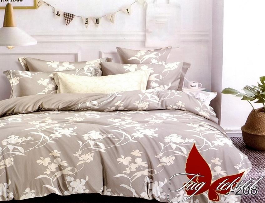 Семейный комплект постельного белья с Узорами, Люкс-сатин