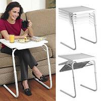 Мобильный складной столик для ноутбука и еды Table Mate 2 с регулировкой высоты и наклоном