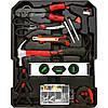 Набор инструментов в чемодане 157 предметов AL-FA, набор ключей и отвёрток, инструменты для дома ALFA, фото 5