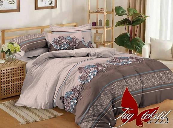 Семейный комплект постельного белья, Люкс-сатин, фото 2