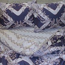 Семейный комплект постельного белья с Узорами, Люкс-сатин, фото 3