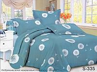 Семейный комплект постельного белья с Одуванчиками, Люкс-сатин