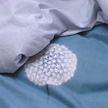 Семейный комплект постельного белья с Одуванчиками, Люкс-сатин, фото 2
