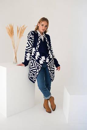 Вязаное пальто кардиган - Аризона, фото 2