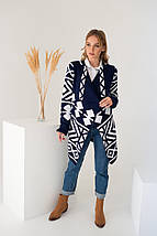 Вязаное пальто кардиган - Аризона, фото 3