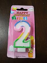 Свічки для торта цифри Україна якість цифра 2