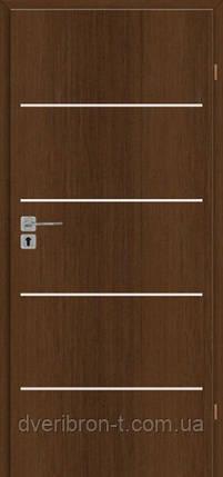Двері Брама 2.8 горіх карпатський, фото 2