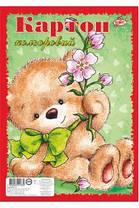 Картон цветной Бриск УВ-7 ф. А-4, 8 листов, фото 2