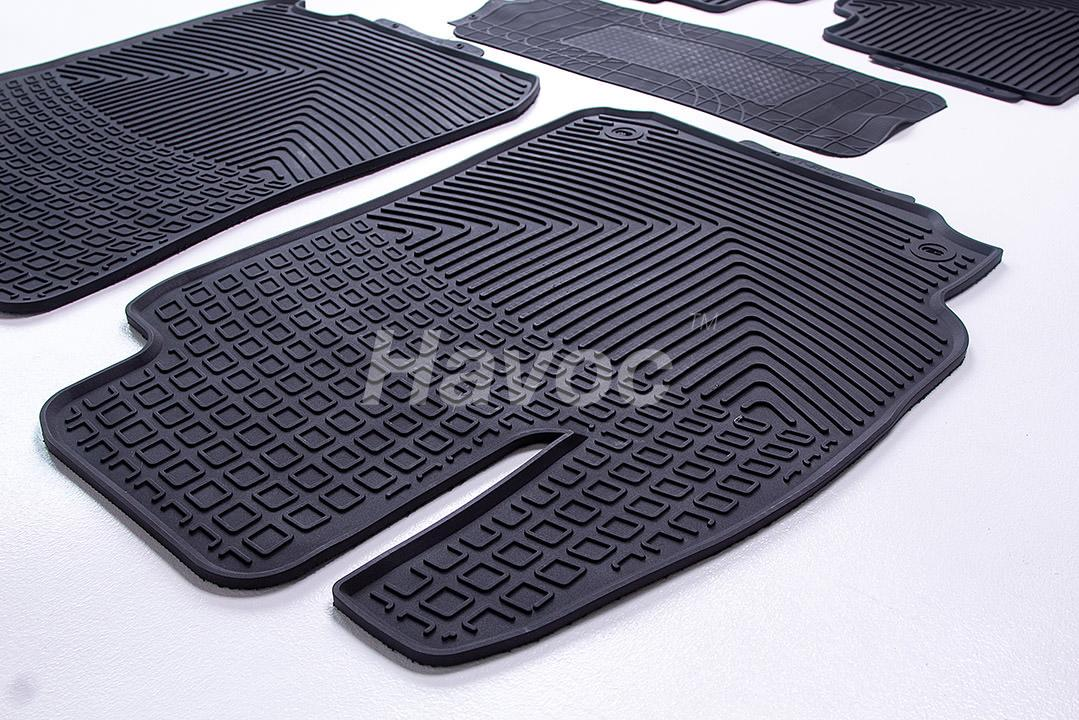 Оригинальные коврики Toyota Camry c 2011 по 2017 HAVOC резиновые в салон полный комплект