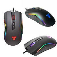 Мышка игровая Fantech X4S Titan с подсветкой черная