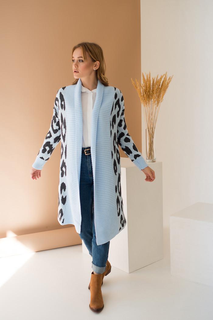 Пальто с принтом «Лео»