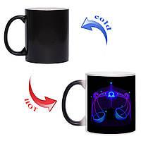 Сказочная чашка хамелеон Знак зодиака Весы 330 мл