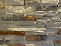 Фасадный камень СЛАНЕЦ (белый)