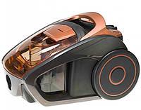 Пылесос контейнерный без мешка для сухой уборки 3000 Вт GRANT GT-1604 серо-коричневый
