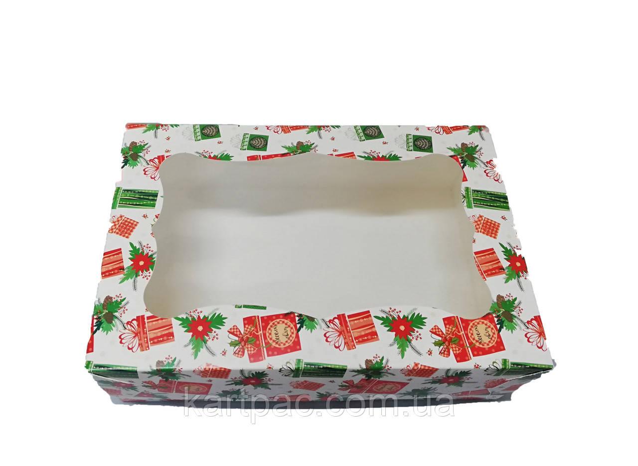 Картонна Коробка для капкейків 250*170*80